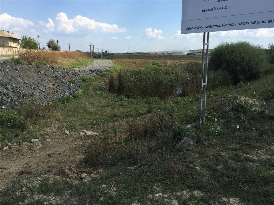 Teren in apropierea portului Isaccea