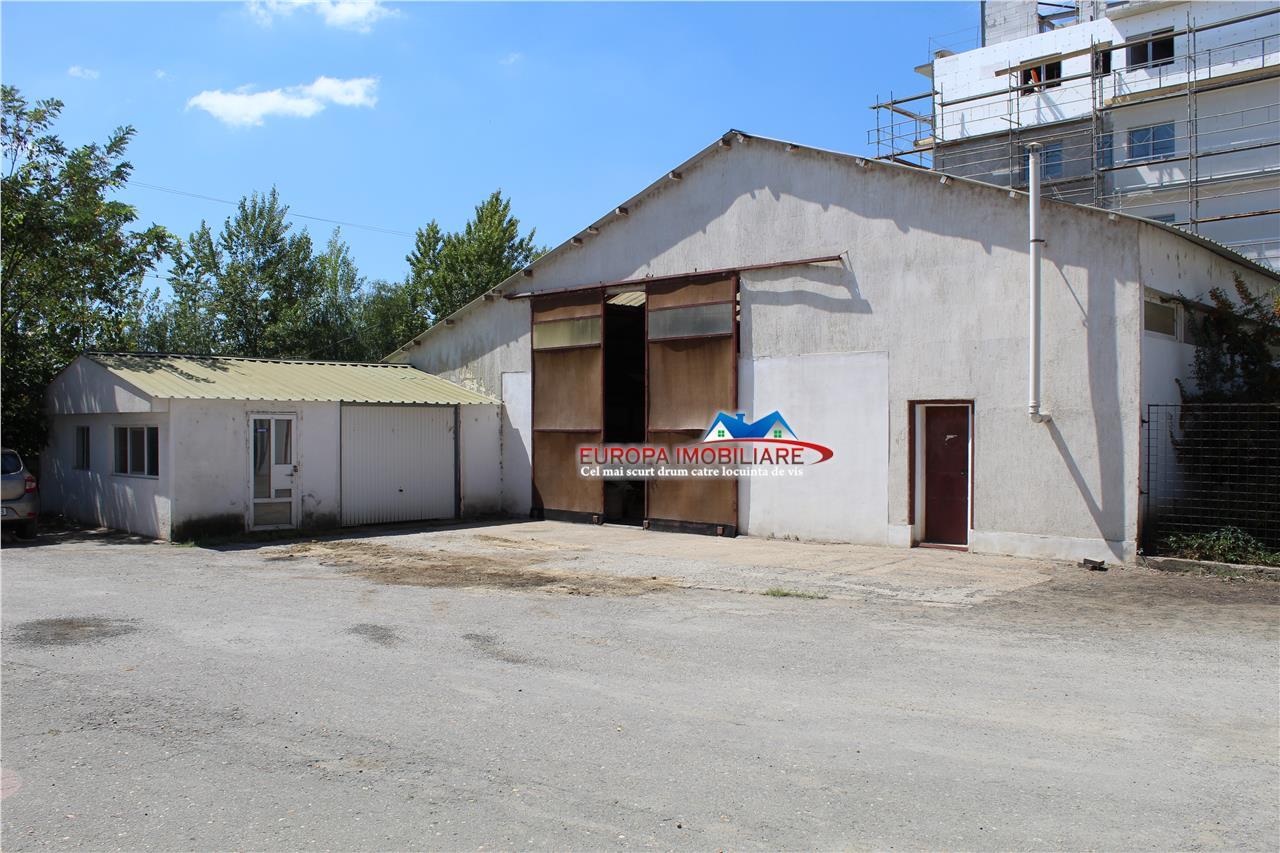 Hala productie, ateliere si pavilion administrativ