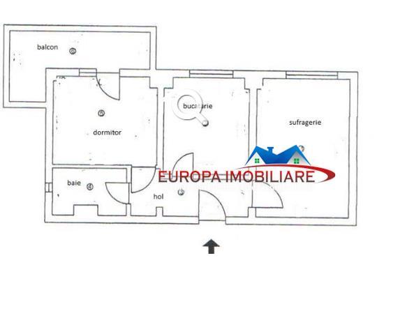 Apartament 2 camere Zona Faleza