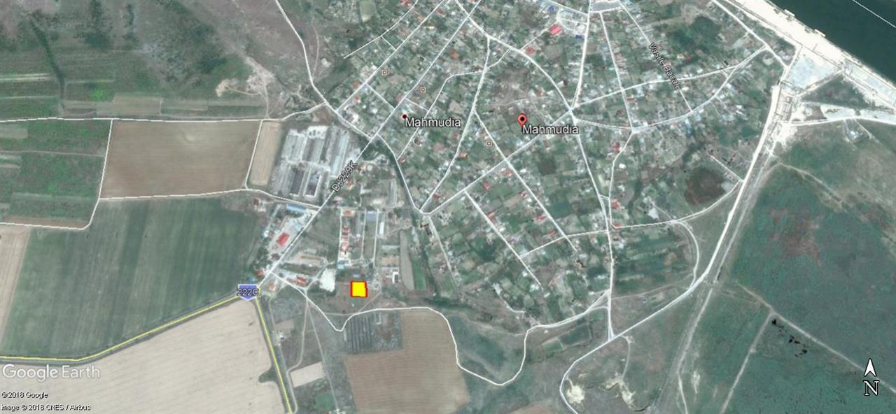 Teren Construibil in Mahmudia