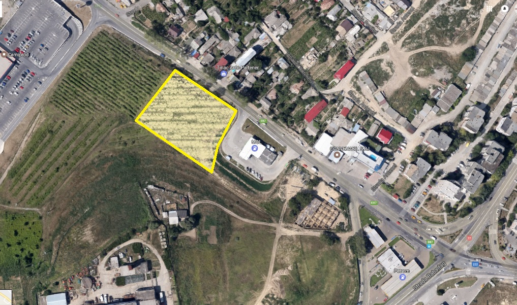Teren Investitii Imobiliare cu deschidere la strada Barajului