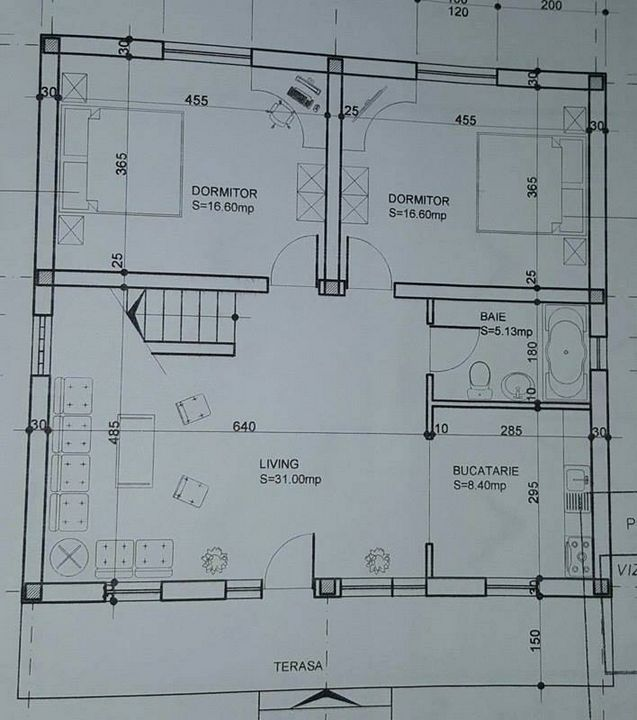 Casa P+M din BCA