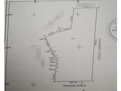 Teren 4196 mp zona bariera Mahmudiei